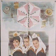 Cine: LOLA FLORES - CARMEN SEVILLA ,EL BALCÓN DE LA LUNA . Lote 13400462
