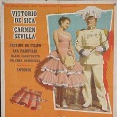 Cine: VITTORIO DE SICA - CARMEN SEVILLA ,PAN, AMOR Y ANDALUCÍA . Lote 13415937