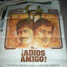 Cine: PÓSTER DE CINE ORIGINAL 70X100CM ADIÓS AMIGO. Lote 64066591