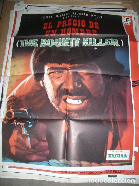 PÓSTER ORIGINAL DE 70X100CM EL PRECIO DE UN HOMBRE (Cine - Posters y Carteles - Westerns)