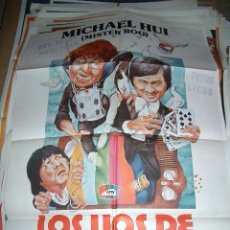 Cine: PÓSTER DE CINE ORIGINAL 70X100CM LOS LÍOS DE MISTER BOO. Lote 64148503