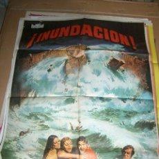 Cine: PÓSTER DE CINE ORIGINAL DE INUNDACIÓN. Lote 64389167