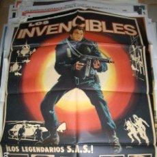 Cine: PÓSTER ORIGINAL DE 70X100CM DE LOS INVENCIBLES. Lote 64403671
