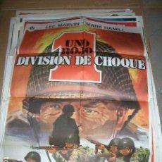 Cine: UNO ROJO DIVISIÓN DE CHOQUE, LEE MARVIN, MARK HAMILL, SAMUEL FULLER. Lote 64611499