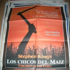 Cine: PÓSTER ORIGINAL DE CINE 70X100CM LOS CHICOS DEL MAIZ, STEPHEN KING. Lote 107560502