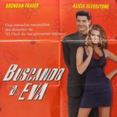 Cine: CARTEL DE CINE BUSCANDO A EVA. 1999 70*100. Lote 64649311