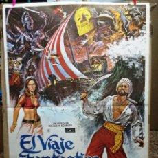 Cine: EL VIAJE FANTASTICO DE SIMBAD. JOHN PHILLIP LAW. AÑO 1975.. Lote 64696391