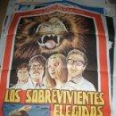 Cine: PÓSTER ORIGINAL DE 70X100CM DE LOS SOBREVIVIENTES ELEGIDOS. Lote 64700551