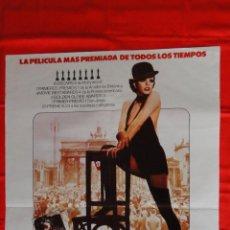 Cine: CABARET, POSTER 70X100CMS. LIZA MINNELLI, EXCELENTE ESTADO. Lote 64788247