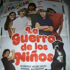 Cine: POSTER DE CINE ORIGINAL 70X100CM LA GUERRA DE LOS NIÑOS, PARCHIS. Lote 64899655