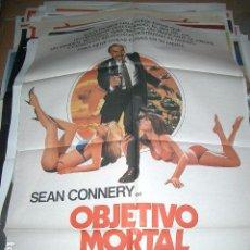 Cine: POSTER DE CINE ORIGINAL 70X100CM OBJETIVO MORTAL. Lote 64899691