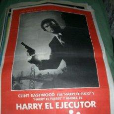 Cine: PÓSTER DE CINE ORIGINAL 70X100CM HARRY EL EJECUTOR. Lote 65000175