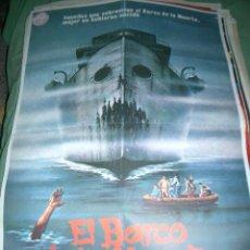 Cine: PÓSTER DE CINE ORIGINAL 70X100CM EL BARCO DE LA MUERTE. Lote 65016303