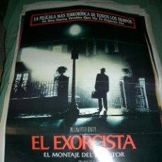 Cine: PÓSTER DE CINE ORIGINAL 70X100CM EL EXORCISTA (EL MONTAJE DEL DIRECTOR). Lote 65016527