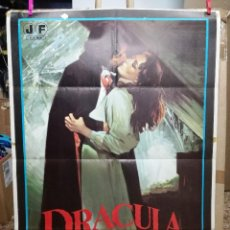 Cinema: CARTEL CINE, DRACULA CHUPA..., JAMIE GILLIS, JANO, CLASIFICADA S, 1980,. Lote 65245367