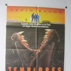 Cine: TEMBLORES KEVIN BACON CARTEL ORIGINAL DE LA PELÍCULA. Lote 65282583