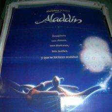 Cine: 2 POSTERS DIFERENTES DE ALADIN. Lote 65437658