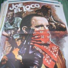 Cine: PÓSTER DE CINE ORIGINAL JOE EL LOCO. Lote 65668182