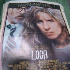 Cine: PÓSTER ORIGINAL DE 70X100CM LOCA BARBARA STREISAND. Lote 65676910