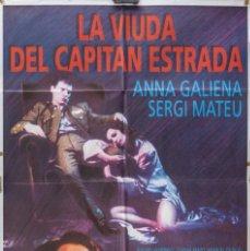 Cine: CARTEL DE CINE LA VIUDA DEL CAPITÁN ESTRADA, 1991, 70*100. Lote 65853942