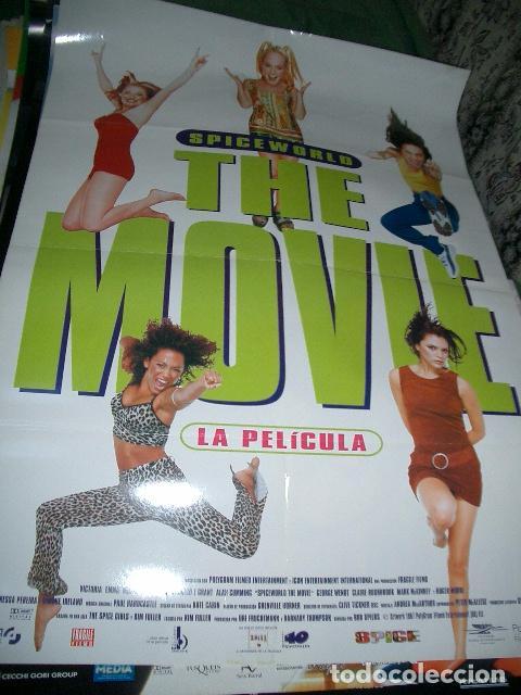 PÓSTER ORIGINAL DE CINE 70X100CM SPICE GIRLS, THE MOVIE (Cine - Posters y Carteles - Musicales)