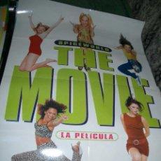 Cine: PÓSTER ORIGINAL DE CINE 70X100CM SPICE GIRLS, THE MOVIE. Lote 65904386