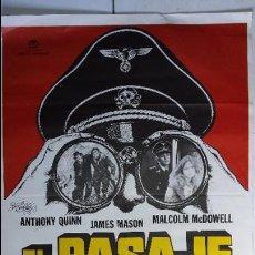 Cine: ANTIGUO Y ORIGINAL CARTEL DE CINE 70 X 100 CM. EL PASAJE - 1979. Lote 65960522