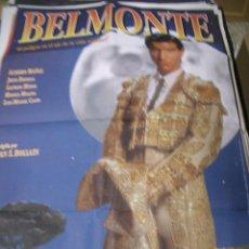 Cinema - PÓster de cine original 70x100cm BELMONTE - 65966182