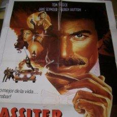Cine: PÓSTER DE CINE ORIGINAL 70X100CM LASSITER. Lote 65966482