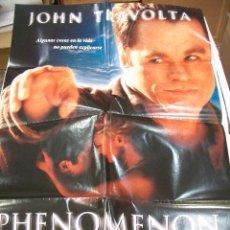 Cine: PÓSTER ORIGINAL DE CINE 70X100CM PHENOMENON CON JOHN TRAVOLTA. Lote 65990618