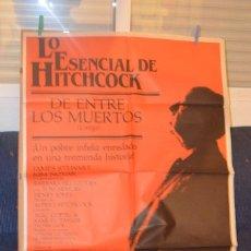 Cine: DE ENTRE LOS MUERTOS POSTER ALFRED HITCHCOCK. Lote 66039594