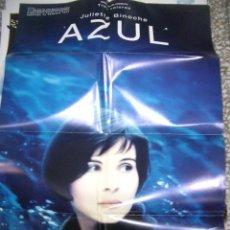 Cine: PÓSTER ORIGINAL DE 70X100CM AZUL. Lote 66040734