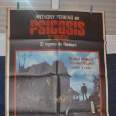 Cine: PSICOSIS PARTE II POSTER. Lote 66074218