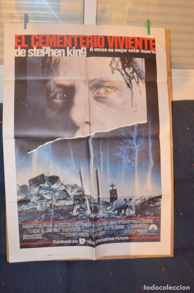 EL CEMENTERIO VIVIENTE POSTER (Cine - Posters y Carteles - Terror)