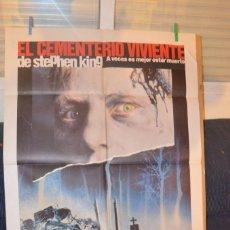 Cine: EL CEMENTERIO VIVIENTE POSTER. Lote 66106118