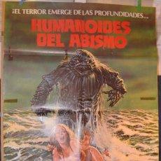 Cine: HUMANOIDES DEL ABISMO POSTER. Lote 66124518