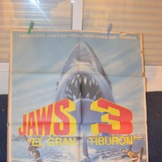 Cine: JAWS 3 POSTER. Lote 66124850