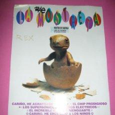 Cine: POSTER DE LA MOSTRETA DE LA MOSTRA DE VALENCIA DE CINEMA DEL MEDITERRANI-AÑO 1993. Lote 66170562
