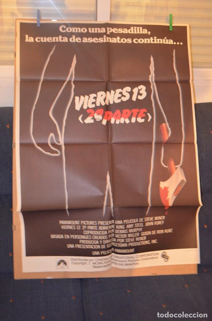 VIERNES 13 PARTE 2 POSTER (Cine - Posters y Carteles - Terror)