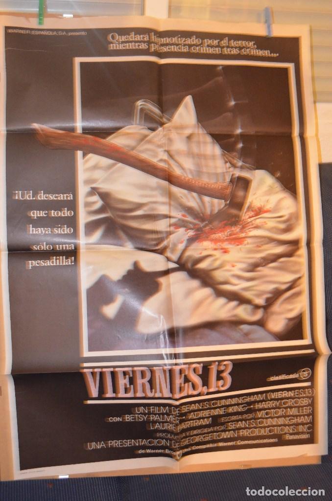 VIERNES 13 POSTER (Cine - Posters y Carteles - Terror)