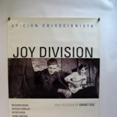 Cine: JOY DIVISION (2007) GRANT GEE CARTEL ORIGINAL DEL DOCUMENTAL. NUEVO. Lote 66234734