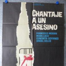 Cine: CHANTAJE A UN ASESINO - FRANCISCO MORAN, MARA LASO, CONCHITA GOYANES - AÑO 1966. Lote 79009941