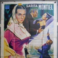 Cine: XF23 EL ULTIMO CULPLE SARA MONTIEL VALENCIA POSTER ORIGINAL FRANCES 120X160 LITOGRAFICO. Lote 66453318