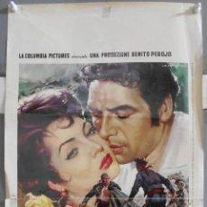 Cine: XF29 CARMEN LA DE RONDA SARA MONTIEL JORGE MISTRAL CAPITANI POSTER ORIGINAL 33X70 ITALIANO. Lote 66454474