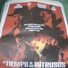 Cine: PÓSTER ORIGINAL DE 70X100CM EL TIEMPO DE LOS INTRUSOS. Lote 66768534