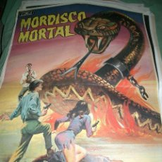 Cine: PÓSTER ORIGINAL DE 70X100CM MORDISCO MORTAL. Lote 66769750