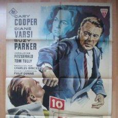 Cine: CARTEL CINE, CALLE FREDERICK, GARY COOPER, DIANE VARSI, 1964, MATAIX, C860. Lote 66783514
