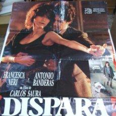 Cine: PÓSTER ORIGINAL DE 70X100CM DISPARA. Lote 66833774