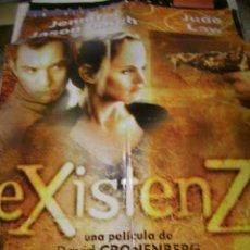 Cine: PÓSTER ORIGINAL DE 70X100CM EXISTENZ. Lote 66931342