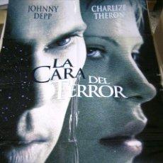 Cine: PÓSTER ORIGINAL DE 70X100CM LA CARA DEL TERROR. Lote 66932650